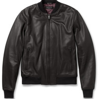 Rag & bone - Quilted Leather Bomber Jacket | MR PORTER