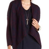Marled Cocoon Cardigan Sweater by Charlotte Russe
