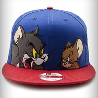 New Era Tom & Jerry Snap Back Flatbill Hat