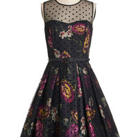 ModCloth Sleeveless Fit & Flare Leave Them Breathless Dress in Jewel