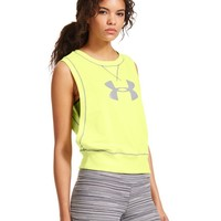 Under Armour Women's UA Pretty Gritty French Terry Vest