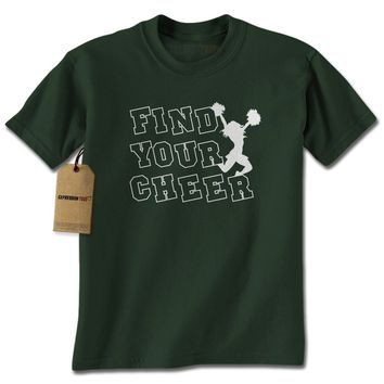 Find Your Cheer Mens T-shirt