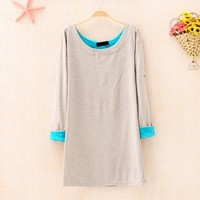 Mixed Color Shirt for Women 1