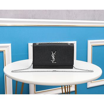 YSL Newest Popular Women Leather Handbag Tote Crossbody Shoulder Bag Satchel