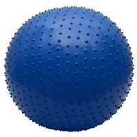85cm PVC Thickening Explosion Proof Fitness Yoga Exercise Ball Blue