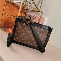 lv louis vuitton women leather shoulder bags satchel tote bag handbag shopping leather tote 46