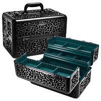 "SEPHORA COLLECTION Strike Wild Traincase (13.5"" x 8.5""x 9.5"" Black)"