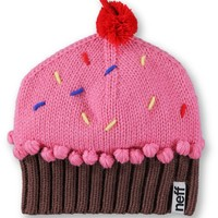 Neff Strawberry Pink Cupcake Beanie
