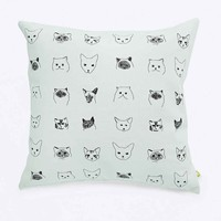 Baines & Fricker Cat Cushion - Urban Outfitters