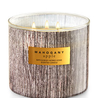 Mahogany Apple 3-Wick Candle | Bath And Body Works