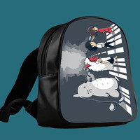 Studio Ghibli Characters Road for Backpack / Custom Bag / School Bag / Children Bag / Custom School Bag *