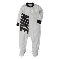 Baby Boy Nike Swoosh Footed Coverall | null