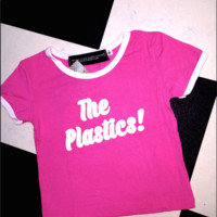SWEET LORD O'MIGHTY! THE PLASTICS RINGER TEE