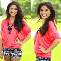 Your Favorite Everyday Top in Coral