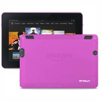 """Frost TPU Case for Kindle Fire HDX 7"""" Tablet (Pink)"""