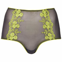High-waisted Knickers - Charcoal
