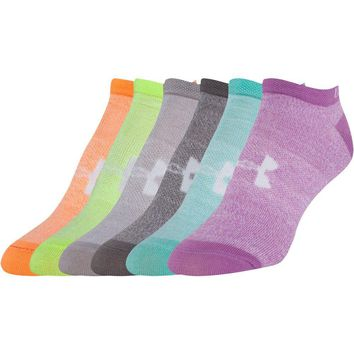 Under Armour UA Big Logo No Show 6-Pack