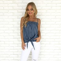 Knot My Fault Stripe Top