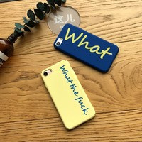 Phone Cases For iPhone 6 6s 7 7 Plus Case Funny