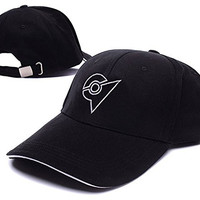 HAISHEN Pokemon Unova League Symbol Logo Adjustable Baseball Caps Unisex Snapback Embroidery Hats