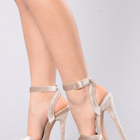 Party Girl Heel - Nude