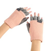 Knitted Fingerless Wrist Gloves