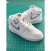 Just Do It Nike Air Force 1 High Sport Shoes