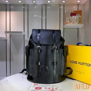 HCXX 19Aug 619 Louis Vuitton LV M41379 Fashion Large-capacity Christopher Backpack 41-47-13CM