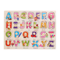Child Kids Toys The Learning Journey Lift and Learn Toys Number and Letter Slide Puzzle