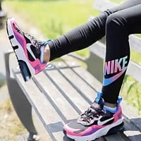 NIKE AIR MAX 270 REACT Fashion New Hook Sports Leisure Running Shoes Women