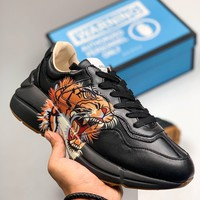 Gucci Rhyton Sneaker With Tiger Print - Best Online Sale