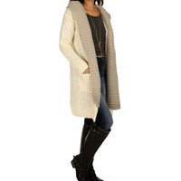 Sale-natural Duster With Pockets