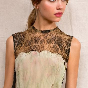 Rough And Tumble Vintage Seaweed Dress - Urban Outfitters