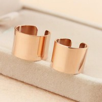 womens cool rose gold ring tail ring gift-153