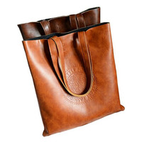 Totes Vintage Pu Leather Shoulder Bags