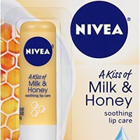 Nivea Lip Care a Kiss of Milk and Honey Soothing Lip Care (4 Pack)