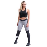 Women Sports Gym Yoga  2017 Sexy Mid Waist Stretched Gym Clothes Running Tights Fitness Elastic Leggings JUN13