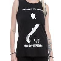 Joan Jett Bad Reputation Girls Muscle Top
