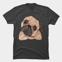 Ornate Pug T Shirt By Myartlovepassion Design By Humans