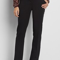 the smart IT fit bootcut pant in black | maurices