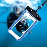 2018 Hot Sell Valve type Waterproof Bag Drifting Wter Sports Essential Mobile Phone Bag for Outdoor Sports