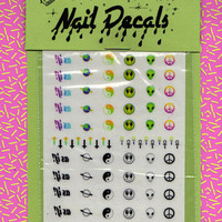 NAIL DECALS - Y2K - free shipping U S A - Andy Paerels