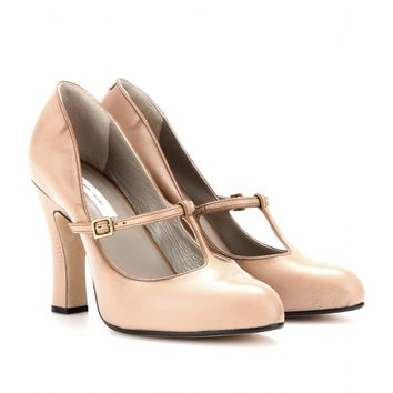 marni edition - mary-jane leather pumps