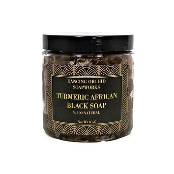 Turmeric African Black Soap (Paste)