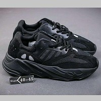 Adidas Yeezy 700 Boost Sneakers Running Sports Shoes Black I-HAOXIE-ADXJ