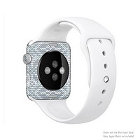 The Knitted Snowflake Fabric Pattern Full-Body Skin Kit for the Apple Watch