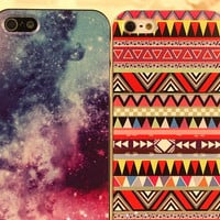 Colorful Tribal Totem iphone4/4S iPhone5 case [161]