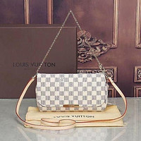 LV Louis Vuitton Hot Sale Women Leather Satchel Shoulder Bag Handbag Crossbody Bag