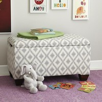 As You Wish Storage Bench with Feet
