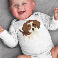 Beagle Baby Clothes Bodysuit Romper